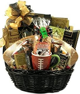 MVP Gourmet Football Gift Basket for Him -Deluxe