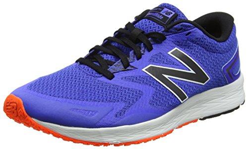 New Balance Flash V2, Zapatillas de Running para Hombre, Azul (Blue/Black), 41.5 EU