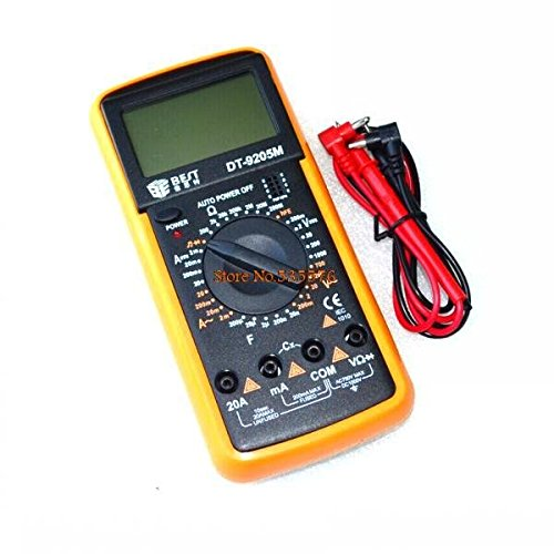 KINWAT New BEST DT9205M 3 1/2 AC/DC LCD Electrical Digital Multi-meter Volt Amp Ohm Tester Wholesale Electrical Instruments-Multimeters