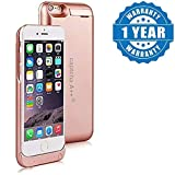 Drumstone 8200mAh External Battery Backup Charger Case Cover for iPhone 6, 6S Plus