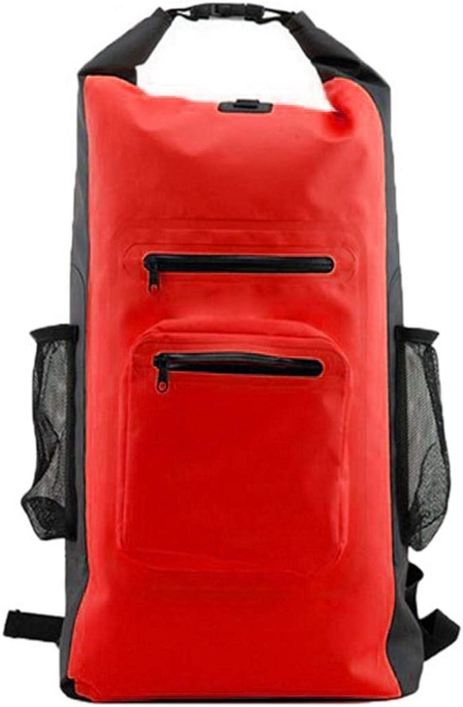 MAGAI PVC-Wasserdichte Tasche, wasserdichter Rucksack, Bergsteigen-Rucksack, Bergsteigen-Rucksack, Bergsteigen-Rucksack, gelb (Farbe   rot) B07MXNX32B | Lassen Sie unsere Produkte in die Welt gehen  b051ad