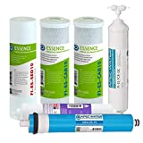 APEC FILTER-MAX-ESPH 75 GPD Complete Replacement Filter Set for ESSENCE Series Alkaline Re...