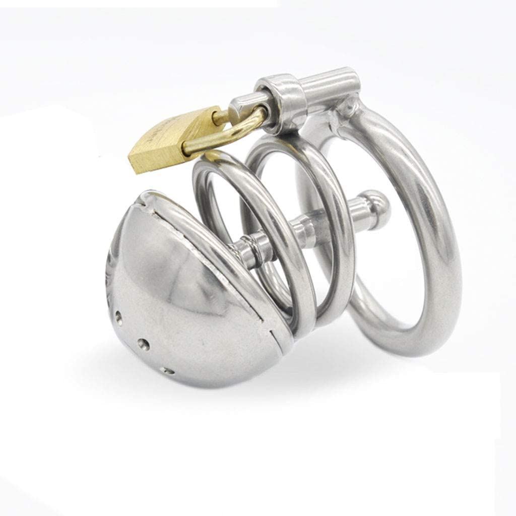 discount SHF Male Stainless Steel Complete Free Shipping Ch^astity Cb6000 Device Cathete Urinary