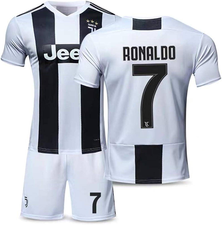 wholesale dealer f33d1 cff4e Sybabyt Juventus Cristiano Ronaldo 7 Men's Home Soccer ...