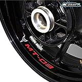 MT 07 Motocicleta Extremo de Manillar para Yamaha MT01 MT03 MT07 MT09 MT10 para Yamaha FZ01 FZ03 FZ07 FZ09 FZ10-Titanio