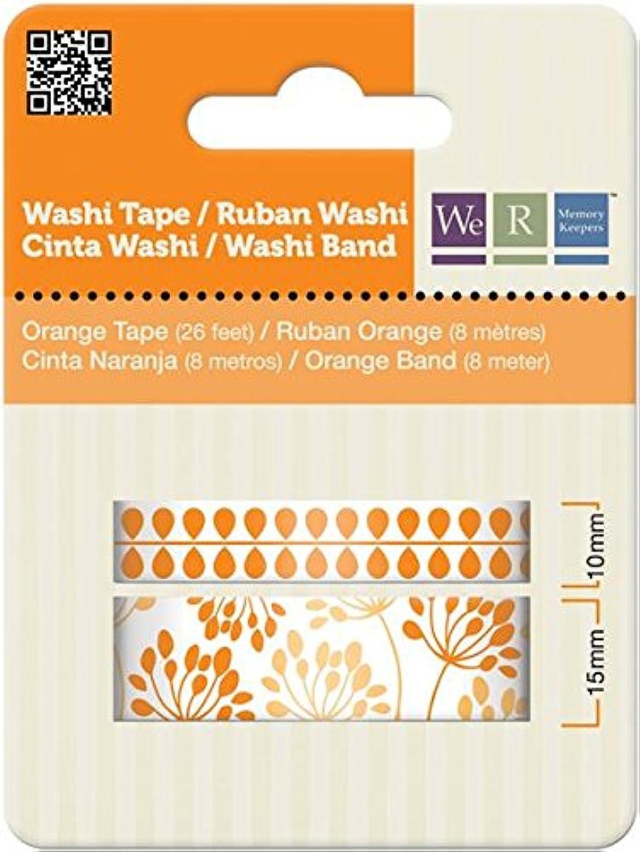 We R Memory Keepers Washi Tape, Orange B007WDT5D6   | Sehr gelobt und vom Publikum der Verbraucher geschätzt