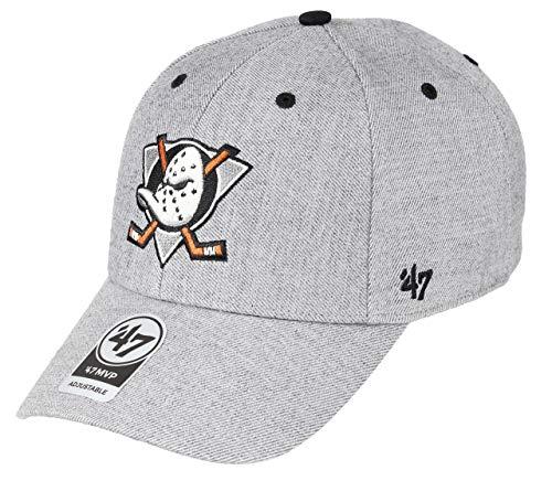47Brand Storm Cloud MVP Cap Anaheim Ducks H-STMCD25WHV-CC Grau, Size:ONE Size