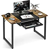 ODK Computer Office Desk with Keyboard Tray, 39 Inch Sturdy Home Office Desk for...