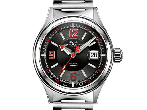 Reloj Automático Ball Fireman Racer, Acero inoxidable, NM2088C-S2J-BKRD