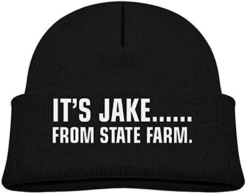 NR It's Jake. from State Farm Bonnet doux pour nouveau-né garçon fille tricoté