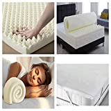 H-L-UK <span class='highlight'>Memory</span> <span class='highlight'>Foam</span> Mattress <span class='highlight'>Topper</span> Bed <span class='highlight'>Topper</span>, Orthopaedic Pressure Relief With Washable & <span class='highlight'>Removable</span> Cover Back Pain Support (5cm) (3cm) (7cm) (King 5cm)