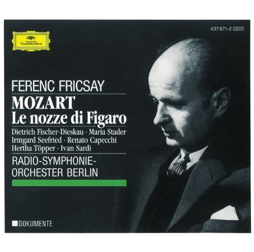 Radio-Symphonie-Orchester Berlin, Ferenc Fricsay & Wolfgang Amadeus Mozart
