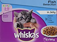 Healthy growth Whiskas recipes are specially formulated to help your kitten grow into a healthy cat With calcium to support the development of strong bones With vitamin E and minerals to help support a strong immune system No artificial flavours, col...