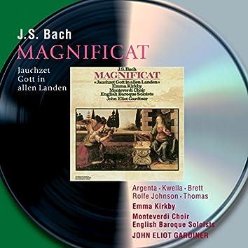 Bach, J.S.: Magnificat; Jauchzet Gott in allen Landen, Cantata BWV51