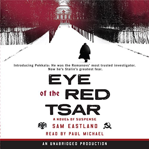 Eye of the Red Tsar audiobook cover art
