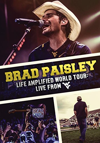 Brad Paisley - Life Amplified World Tour: Live From Wvu [Italia] [DVD]