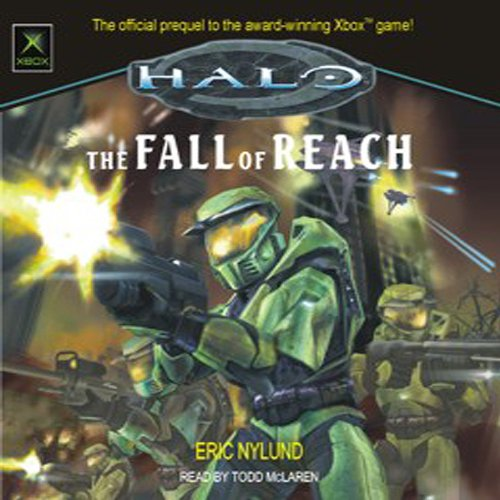 Halo audiobook cover art