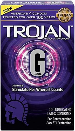 Trojan G. Spot Premium Lubricated Condoms