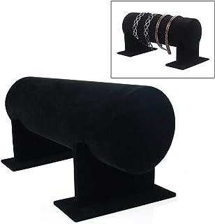 collane Nero per Catene bracciali Espositore per Gioielli LAMF in Velluto