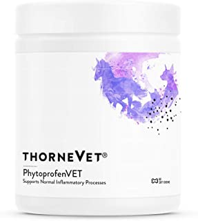ThorneVet PhytoprofenVET – Inflammatory Support for Dogs, Cats & Horses, 60 Soft Chews