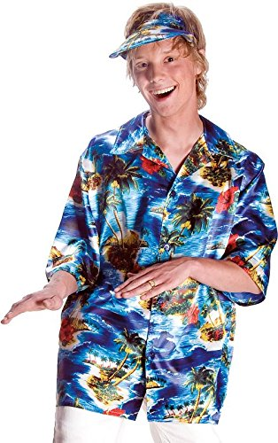 Hawaii Hemd Herren Kostüm Karneval Fasching Magnum