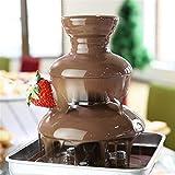 Cyg Schokoladenbrunnen, Komplett Automatisch Schokobrunnen Klein Chocolate Fountain für Kindergeburtstage Und Hochzeiten Schokofondue - 4