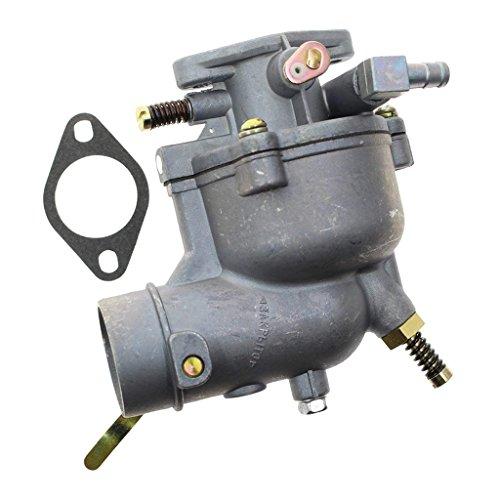 FLAMEER Vergaser + Membrane Rasentrimmer Zubehör Reparaturset für Briggs & Stratton 7Hp 8Hp 9Hp Horizontale Motoren Troybilt carb