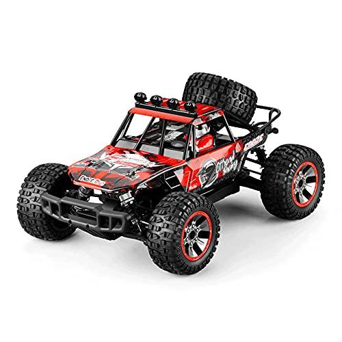 KGUANG 2.4G Eléctrico de Alta Velocidad 45KM / h RC Coche de Carreras Bigfoot 4WD Escala 1: 10 Todas Las Condiciones de la Carretera Control Remoto Buggy Vehículo de Juguete competitivo Adecuado para