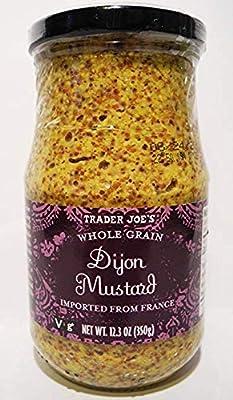 Trader Joe's Whole Grain Dijon Mustard 12.3 oz (Pack of 2)