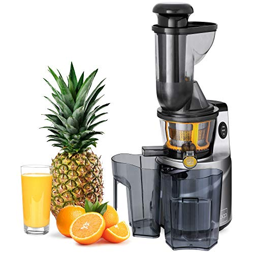 Best Choice Products 150W 60RPM Whole-Food Slow Masticating Cold Press Juicer Extractor for Fruits, Vegetables w/ 3in Wide Feeder Chute, Juice/Pulp Jug, Drip-Free Cap, Safety Locking, Cleaning Brush