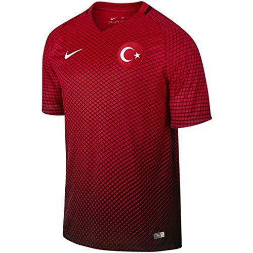 NIKE Selección de Fútbol de Turquía 2015/2016 - Camiseta Oficial, Talla L