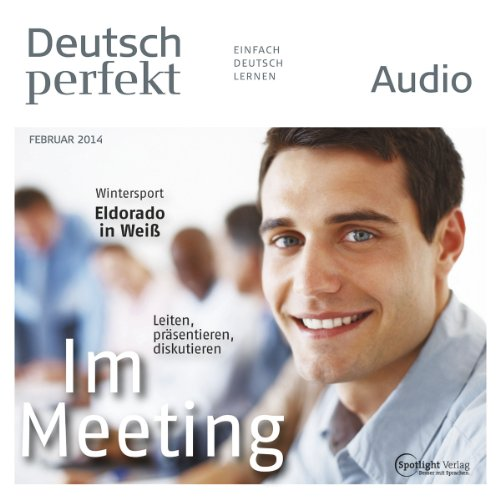 Deutsch perfekt Audio. 2/2014 Titelbild