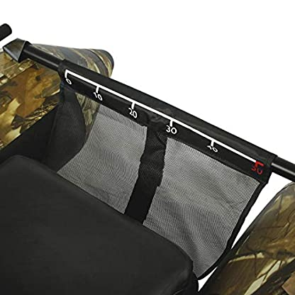 Belly Boot Frontstange Netz mit Messband