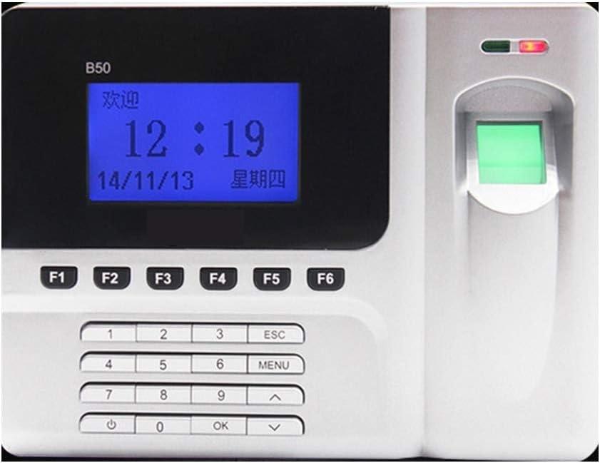 Time Clock Manage Fingerprint Attendance Machine Network Communication USB Time Card Machine Office Electronics Products