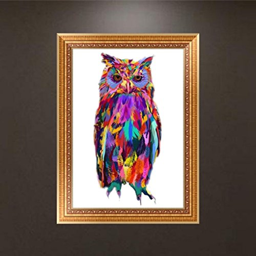 DIY 5D Diamond Painting by Number Kits, Clearance Jiayit 5D Animal Round Diamond Rhinestone Painting Pasted Embroidery Painting Cross Stitch Home Decor (B)