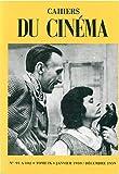 Cahiers du cinéma, tome IX : 1959