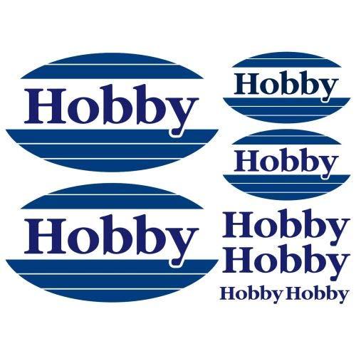 myrockshirt Hobby Aufkleber Aufkleber Wohnmobil Camper Wohnwagen Caravan Camping Sticker 8 Stücke ca.30cm Aufkleber Autoaufkleber Sticker Decal ohne Hintergrund UV&Waschanlagenfest