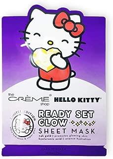 The Crème Shop: Hello Kitty Ready Set Glow Sheet Face Mask