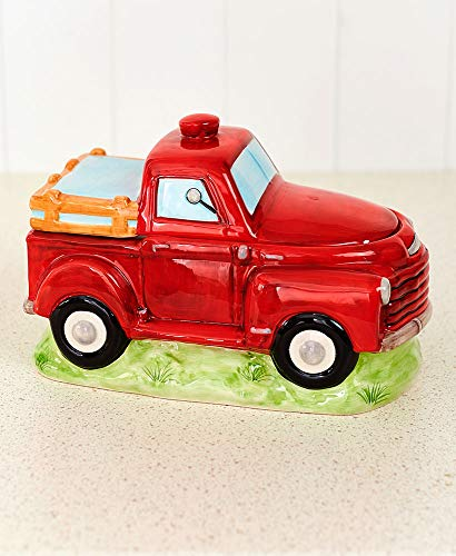 For Sale! Pet Red Truck Treat Jars