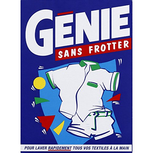 Génie - Lessive en poudre Sans Frotter - la boite de 450 g - (pour la quantité plus que 1 nous vous remboursons le port supplémentaire)