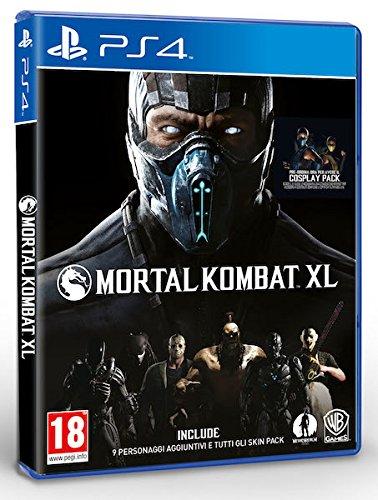 Warner Bros Mortal Kombat XL, PS4 + Hori fighting stick Básico PlayStation 4 Inglés, Italiano vídeo - Juego (PS4 + Hori fighting stick, PlayStation 4, Lucha, Modo multijugador, M (Maduro))