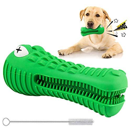 Cepillo de Dientes para Perro de Limpieza de Dientes Molar Stick Juguetes de Cachorro Masticar Juguetes Perro Oral Cuidado Odontológico,100% Natural Caucho,Natural Dog Treats Cepillo de Dientes
