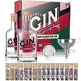 Kit de infusión de alcohol para hacer ginebra, 16 tipos de especias en tubos de vidrio, kit de ginebra, kit de vodka, regalo para hombres y mujeres