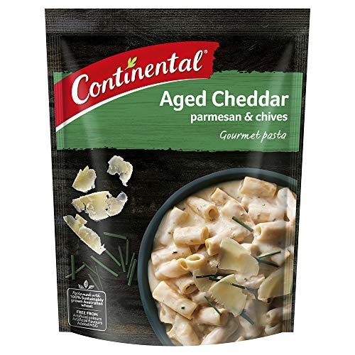 CONTINENTAL Gourmet Pasta (Side Dish)   Aged Cheddar Parmesan & Chives, 90g