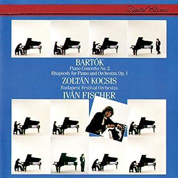 Bartók: Piano Concerto No. 2; Rhapsody For Piano & Orchestra