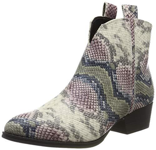 Tamaris Damen Stiefeletten Mehrfarbig/Snake, Schuhgröße:EUR 40
