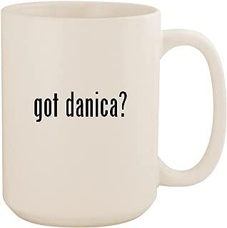 got danica? - White 15oz Ceramic Coffee Mug Cup