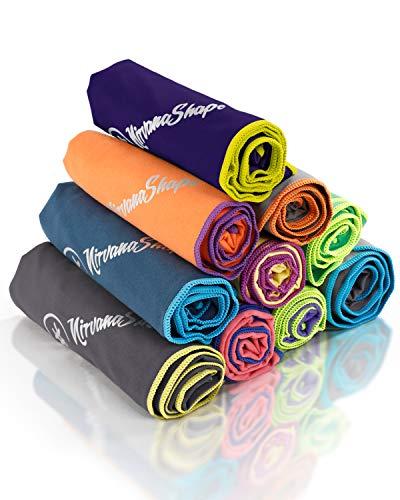 NirvanaShape ® Toalla de Microfibra | 14 Colores | 8 Dimensiones |...