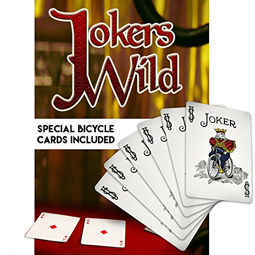Magic Makers Jokers Wild Card Trick - Special Bicycle Trick Cards Included
