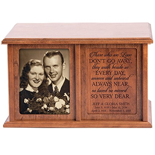 Personalized Engraved Double Keepsake Urn